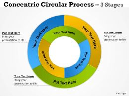 Concentric Circular Process 3 Stages 10