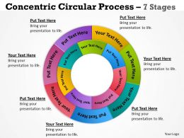 Concentric Circular Process 7 Stages 5