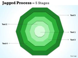 Concentric Proces diagrams 5 Stages 2