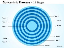 Concentric Process 11 Stages For Business