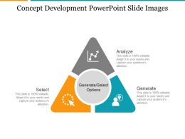 Concept Development Powerpoint Slide Images