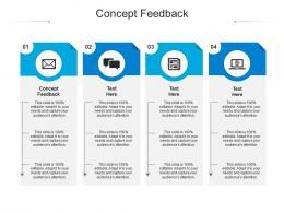 Concept Feedback Ppt Powerpoint Presentation Inspiration Slide Portrait Cpb
