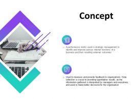 Concept Management Ppt Powerpoint Presentation Model Show