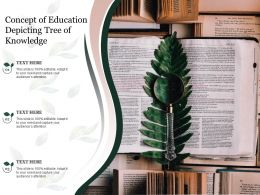 Concept Of Education Depicting Tree Of Knowledge
