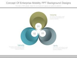 Concept Of Enterprise Mobility Ppt Background Designs