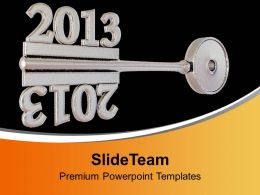 Concept Of Grey Key Mirror Symbol PowerPoint Templates PPT Backgrounds For Slides 0113