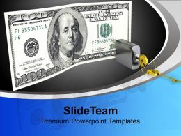 Concept Of Locked Money Future PowerPoint Templates PPT Themes And Graphics 0113