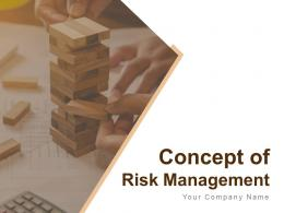 Concept Of Risk Management Powerpoint Presentation Slides
