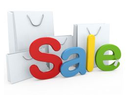 Concept Of Sale Stock Photo