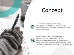 Concept Outcomes Ppt Powerpoint Presentation Outline Example
