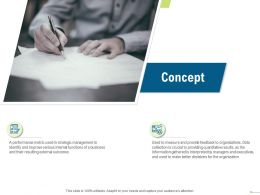 Concept Quantitative Results N100 Powerpoint Presentation Slide Download