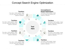 Concept Search Engine Optimization Ppt Powerpoint Presentation Icon Templates Cpb