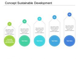 Concept Sustainable Development Ppt Powerpoint Presentation File Example Cpb