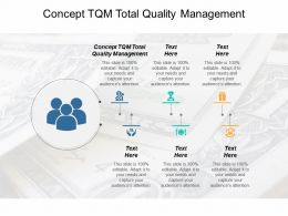 Concept Tqm Total Quality Management Ppt Powerpoint Presentation Professional Example Topics Cpb