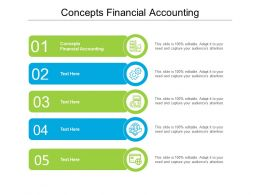 Concepts Financial Accounting Ppt Powerpoint Presentation Layouts Model Cpb