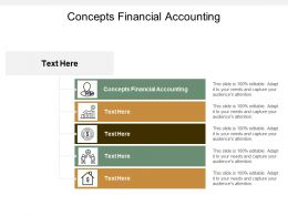 Concepts Financial Accounting Ppt Powerpoint Presentation Show Format Cpb