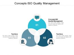 Concepts ISO Quality Management Ppt Powerpoint Presentation File Cpb