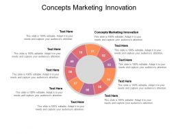 Concepts Marketing Innovation Ppt Powerpoint Presentation Model Outline Cpb