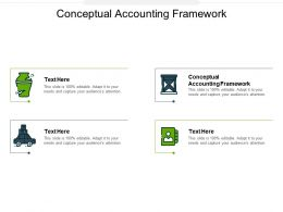 Conceptual Accounting Framework Ppt Powerpoint Presentation Layouts Slides Cpb