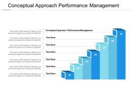 Conceptual Approach Performance Management Ppt Powerpoint Presentation Styles Cpb