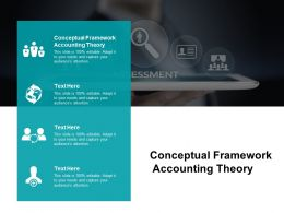 Conceptual Framework Accounting Theory Ppt Powerpoint Presentation Portfolio Cpb