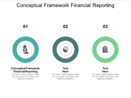 Conceptual Framework Financial Reporting Ppt Powerpoint Presentation Layouts Show Cpb