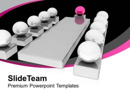 Conceptual Image Of Business Meeting PowerPoint Templates PPT Themes And Graphics 0213