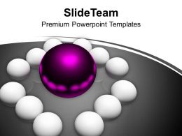 Conceptual Image Of Business Team Manager PowerPoint Templates PPT Backgrounds For Slides 0213