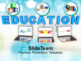 Conceptual Image Of Education And Teaching Powerpoint Templates Ppt Themes And Graphics 0213