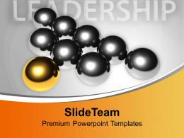 Conceptual Image Of Leadership PowerPoint Templates PPT Themes And Graphics 0213
