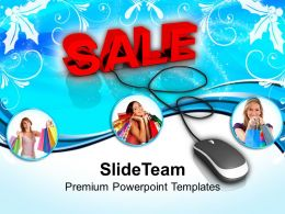 Conceptual Image Of Online Shopping Powerpoint Templates PPT Themes And Graphics 0113