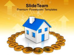 Conceptual Image Of Real Estate And Finance Powerpoint Templates Ppt Themes And Graphics 0213