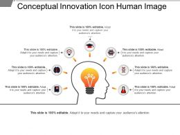 Conceptual Innovation Icon Human Image