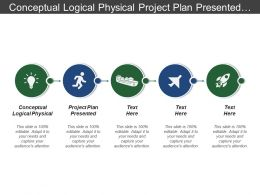 Conceptual Logical Physical Project Plan Presented Steering Committee