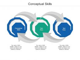Conceptual Skills Ppt Powerpoint Presentation Gallery Tips Cpb