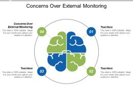 Concerns Over External Monitoring Ppt Powerpoint Presentation Pictures Icons Cpb