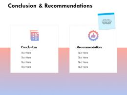 Conclusion And Recommendations Management K235 Powerpoint Presentation Gallery Pictures