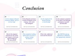 Conclusion Appropriately Calculated Ppt Powerpoint Presentation Layout