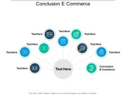 Conclusion E Commerce Ppt Powerpoint Presentation Icon Example Introduction Cpb