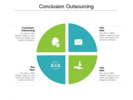 Conclusion Outsourcing Ppt Powerpoint Presentation Summary Background Image Cpb