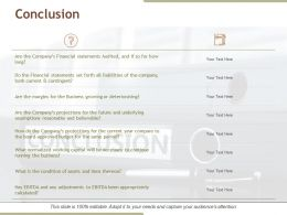 Conclusion Powerpoint Ideas