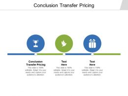 Conclusion Transfer Pricing Ppt Powerpoint Presentation Show Model Cpb