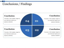Conclusions Findings Ppt Microsoft