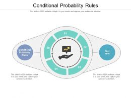 Conditional Probability Rules Ppt Powerpoint Presentation Inspiration Microsoft Cpb