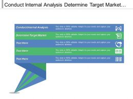 Conduct Internal Analysis Determine Target Market Evaluate Financial Viability