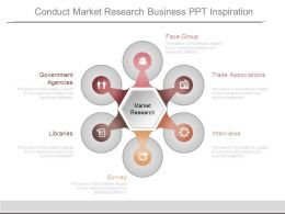 Conduct Market Research Business Ppt Inspiration