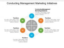 Conducting Management Marketing Initiatives Ppt Powerpoint Presentation Inspiration Skills Cpb