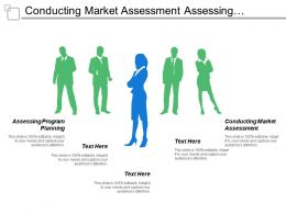 Conducting Market Assessment Assessing Program Planning Concept Development