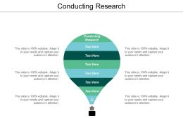 Conducting Research Ppt Powerpoint Presentation File Graphics Design Cpb