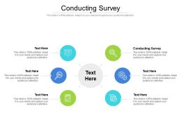 Conducting Survey Ppt Powerpoint Presentation Icon Information Cpb